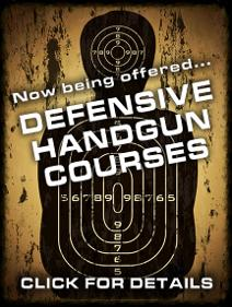 Defensive Handgun Courses