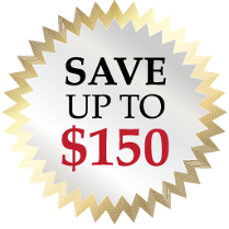 Save up to $150
